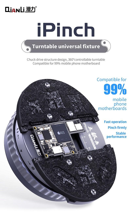 QianLi iPinch Suporte para PCB universal Plataforma Giratória