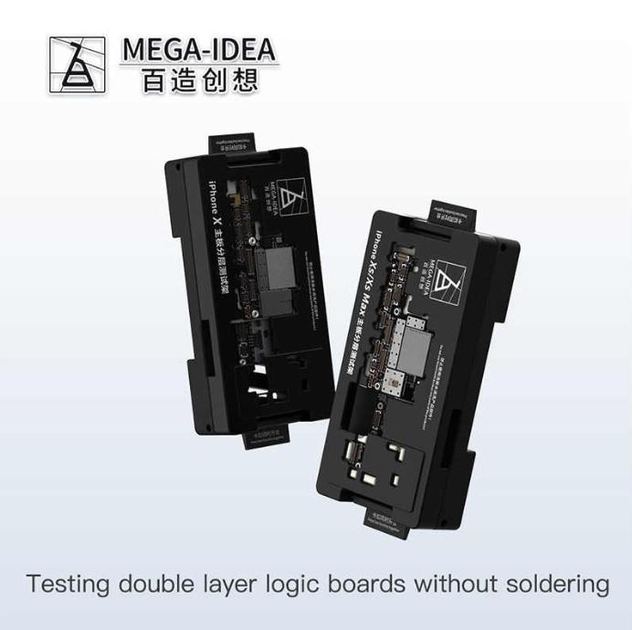 Qianli Mega-idea iSocket Estrutura de teste em camadas da placa-mãe para o phone X ou XS, XS MAX ou X/XS/XS MAX