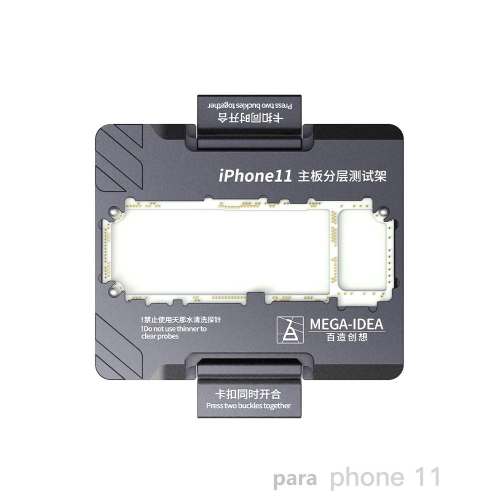 Qianli Mega-idea Socket Estrutura de teste em camadas da placa-mãe para o phone 11 ou para Phone 11 pro/11 pro max