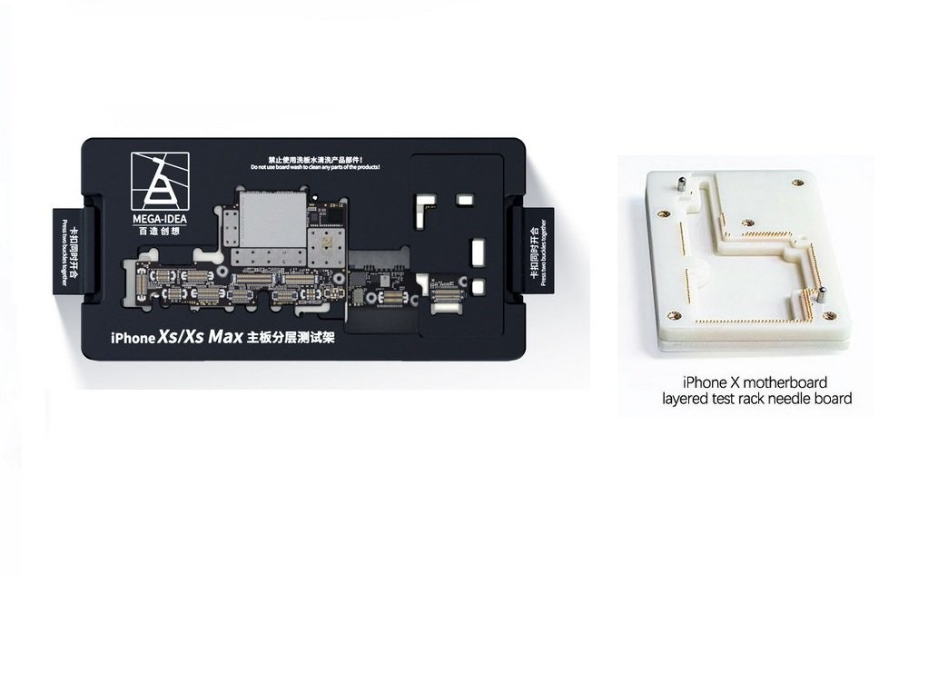 Qianli Mega-idea Socket Estrutura de teste em camadas da placa-mãe para o phone X/XS/XS MAX / Tipo: Clássico
