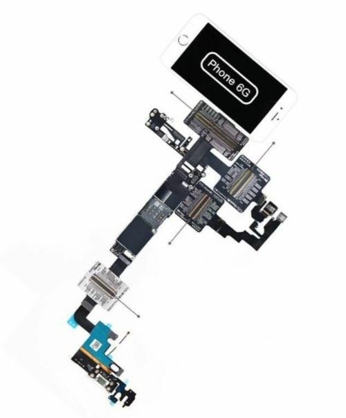 Qianli ToolPlus Ibridge Cabo De Teste Para Phone 6g-7 Plus De Cada