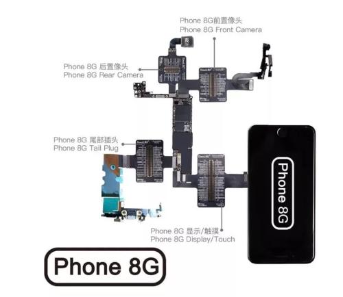 Qianli ToolPlus Ibridge Cabo De Teste Para iPhone 8G-X De Cada