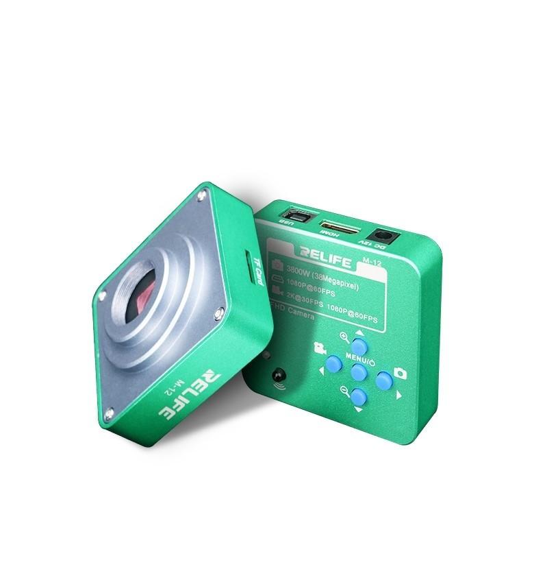 Relife M-12 Câmera para Microscópio Trinocular 38 milhões de pixels HDMI