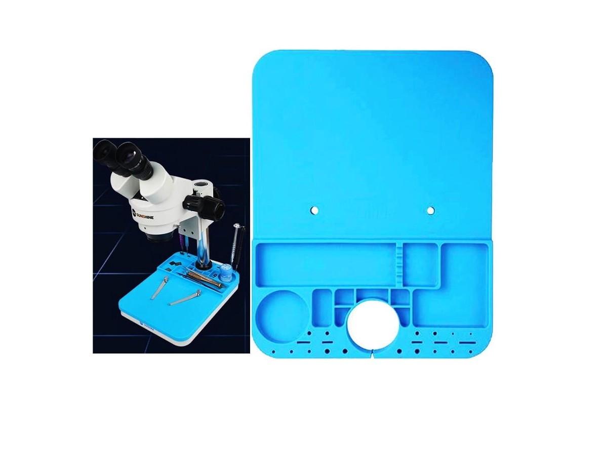 Relife RL-004M Esteira / Almofada especial da manutenção do silicone da base do microscópio
