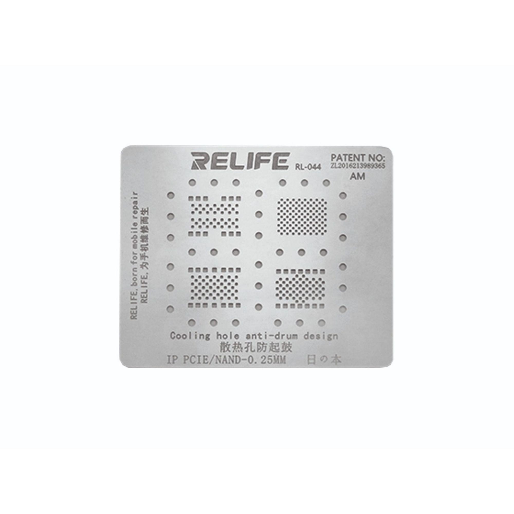 Relife RL-044 PRECISÃO BGA STENCIL para IP PCIE/ Nand, DISCO RÍGIDO ( Hard Disk )