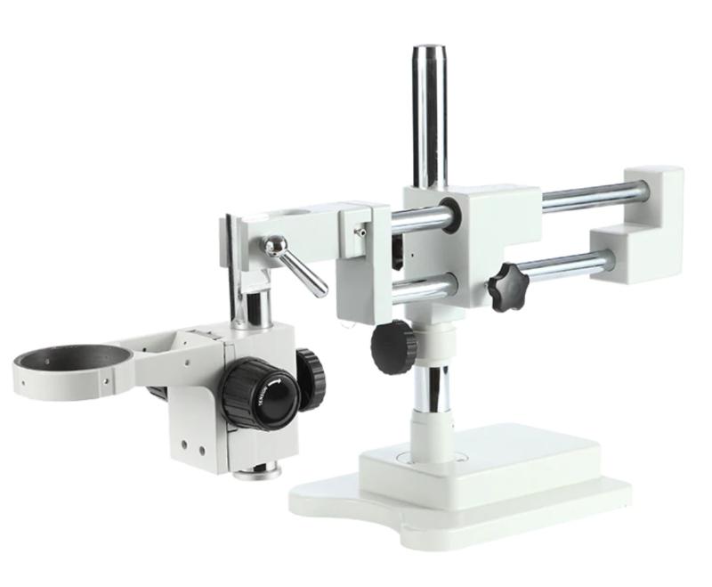 Kaisi STL2-A1 Trinocular Stereo Zoom Microscópio Universal Duplo Boom Stand Titular Braço  Microscopio Acessórios