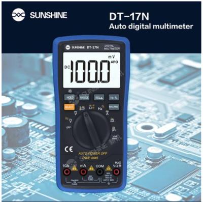 Sunshine Dt-17n Auto Faixa Lcd Display Multímetro Digital