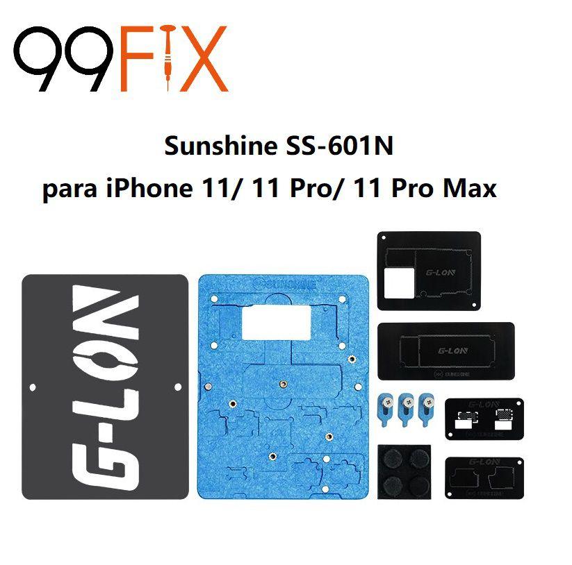Sunshine & G-LON SS-601N - kit de suporte para estanho da placa-mãe da série iPhone 11/11 Pro / 11 Pro Max