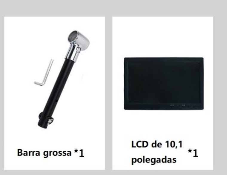 Sunshine LCD/ Tela de 10,1 polegadas ( 25.5cm) com barra grossa