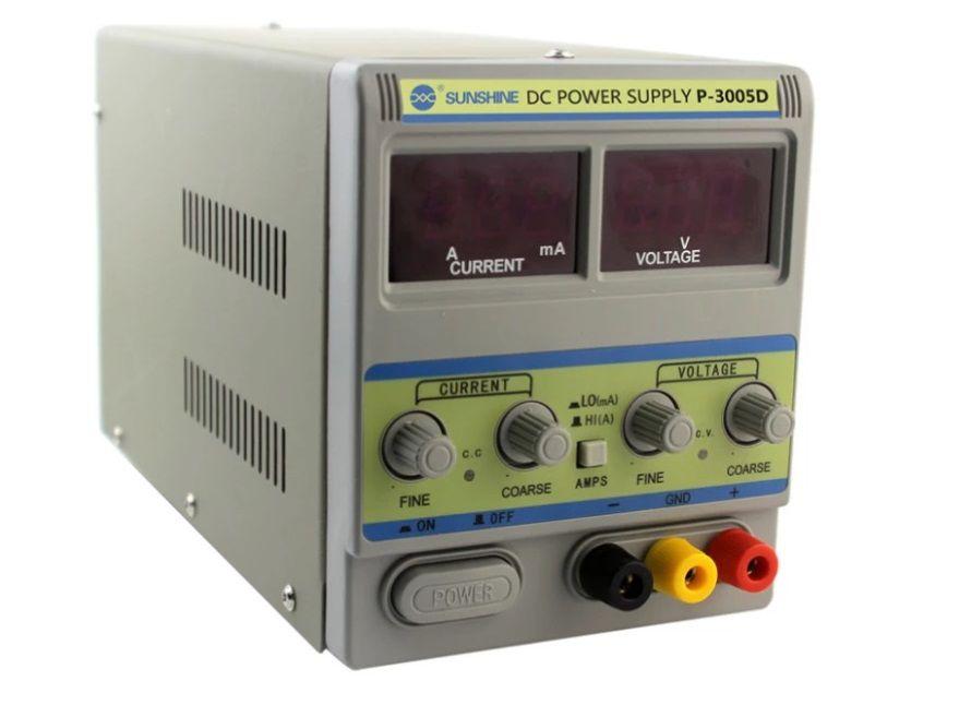 Sunshine P-3005D AC DC 110v  30v 5a Mini fonte de alimentação DC de comutação para a indústria eletrônica