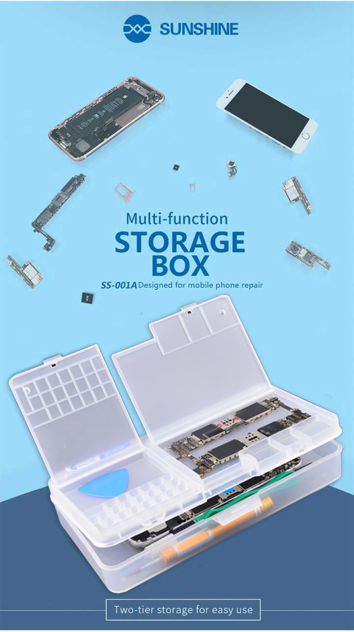 Sunshine Ss-001a Caixa/ Organizador De Armazenamento Multifunções