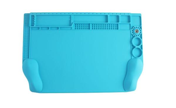 Sunshine Ss-004h Estoque Ergonômico De Manutenção De Silicone 3d  Azul