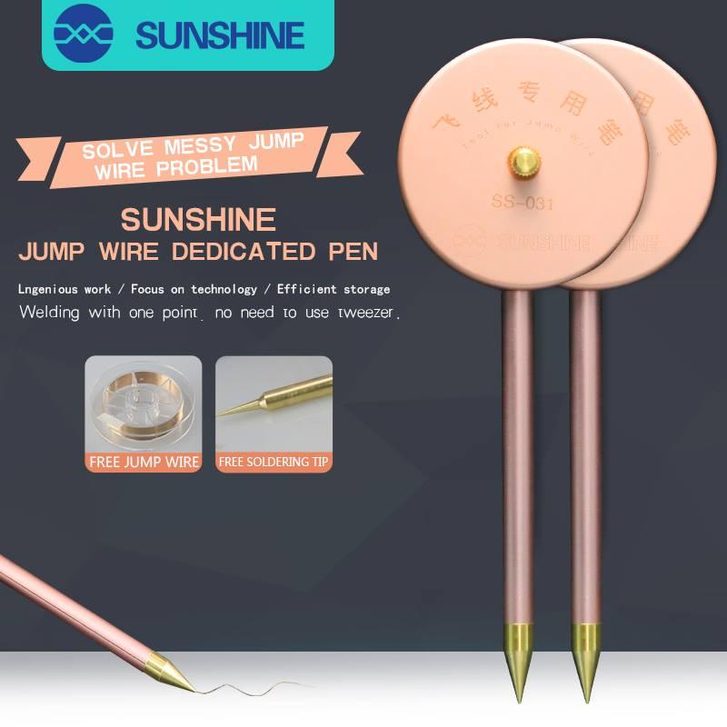 Sunshine Ss-031 Pena Dedicada Do Fio Do Salto (com fio de salto de 0,01mm 150m)
