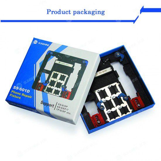 Sunshine Ss-601d (Azul) Dispositivo De Reparo Do Telefone Para iPhone 5s-8p, etc