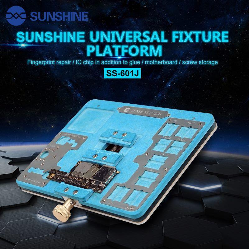 Sunshine Ss-601j Plataforma Universal De Fixação Pcb