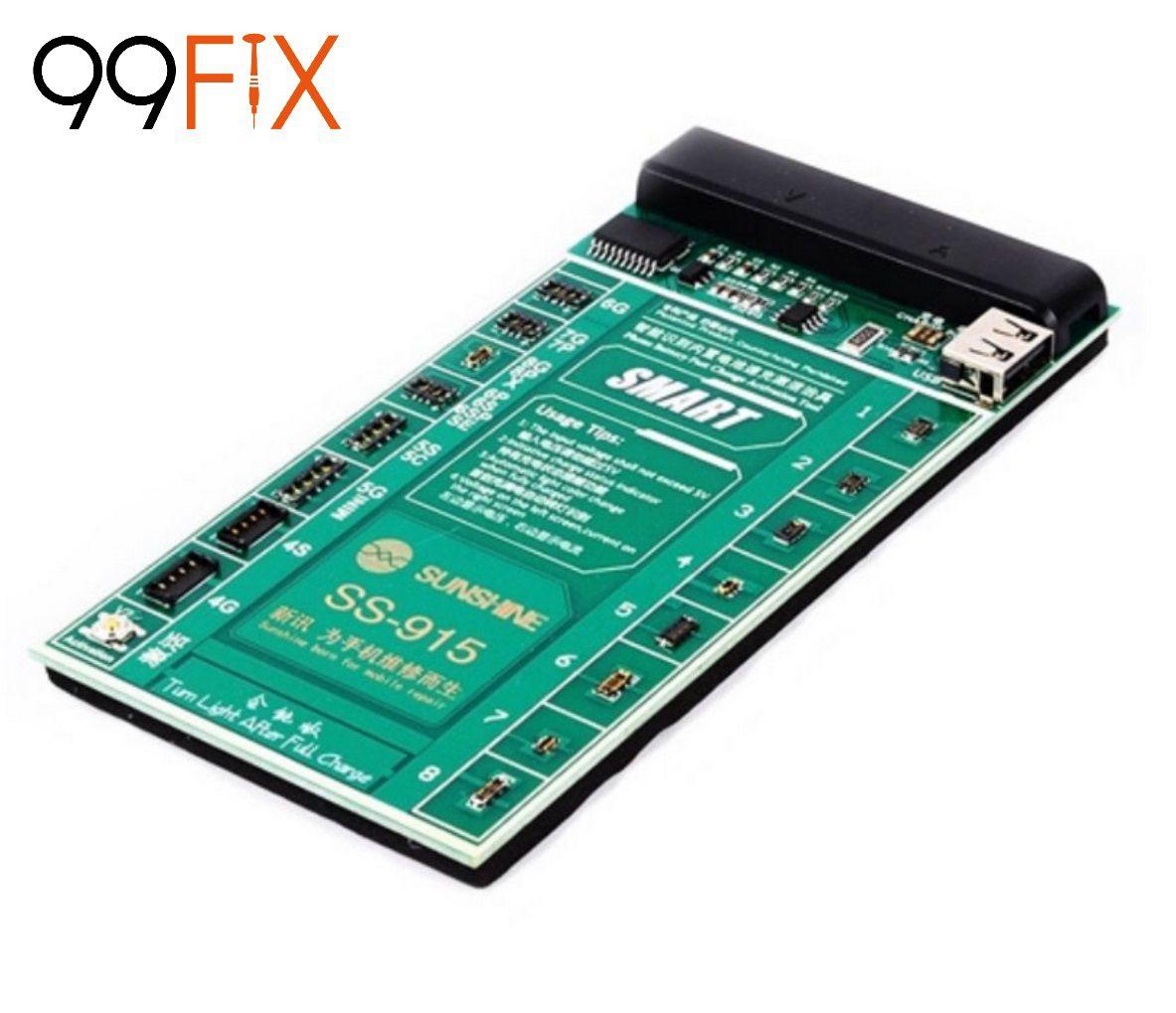 Sunshine SS-915 Placa  para Reativar Bateria para iPhone, Samsung, Huawei, etc.