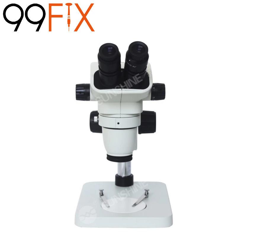 Sunshine SZM-6745-B1 Microscópio binocular com zoom estéreo 1: 6: 7 para reparo móvel Otima qualidade
