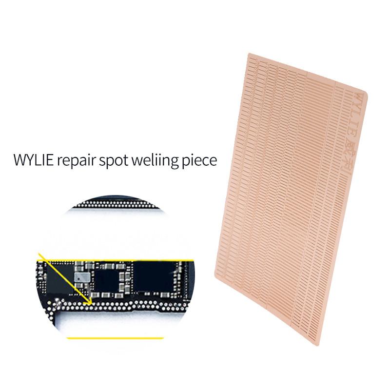 Terminal de solda de reparo de pontos WYLIE para reparo de placas de soldagem de celulares Fio para jumper