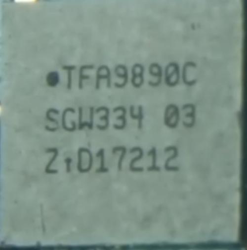 Tfa9890c Ci Audio Para Samsung J730 J7 Pro