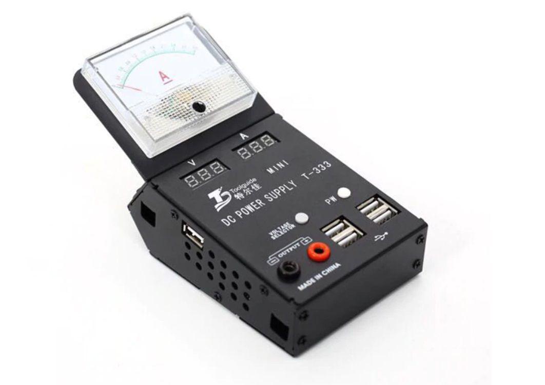ToolGuide T-333 Fonte de alimentação DC mini-multímetro inteligente para reparo do telefone  Ipower 0503 Grande promoção