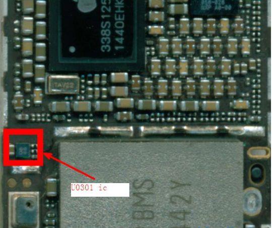 U0301 ic para iphone 6 6 Plus fix tela azul ic chip 4 pinos EEPROM 8K CAT24C08C4A