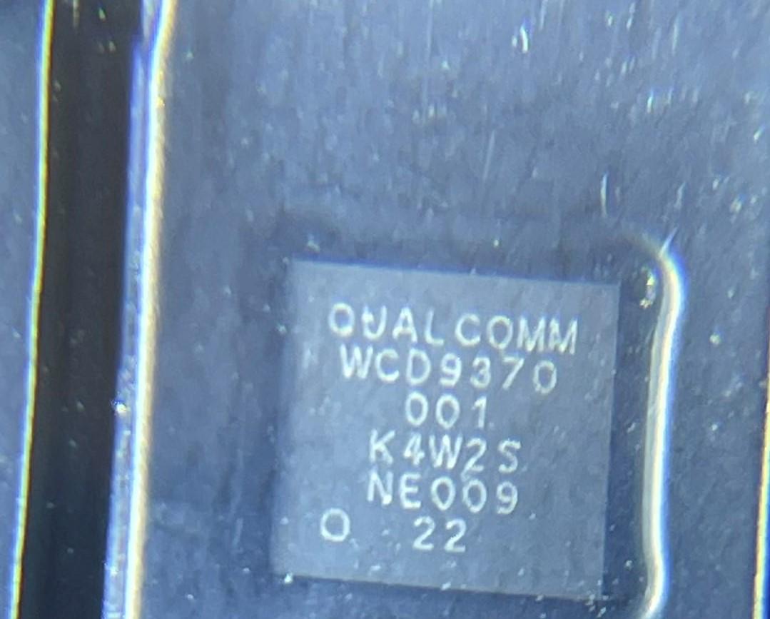 Qualcomm WCD9370 Audio IC chip de som