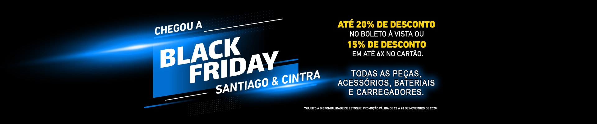 black friday santiago & cintra