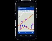 Receptor GPS MobilleMapper 50 wifi c/ soft. MM Field e Processamento de dados