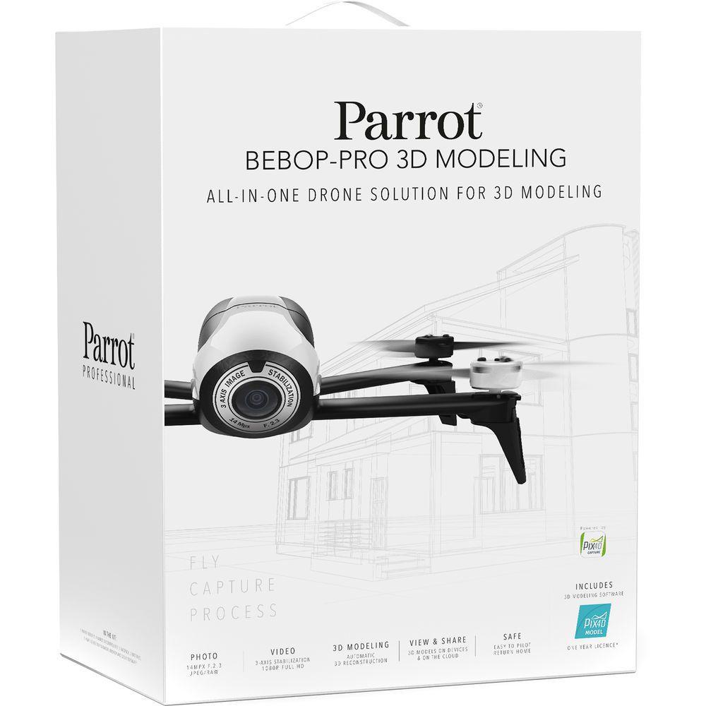 Bebop 3D Modeling