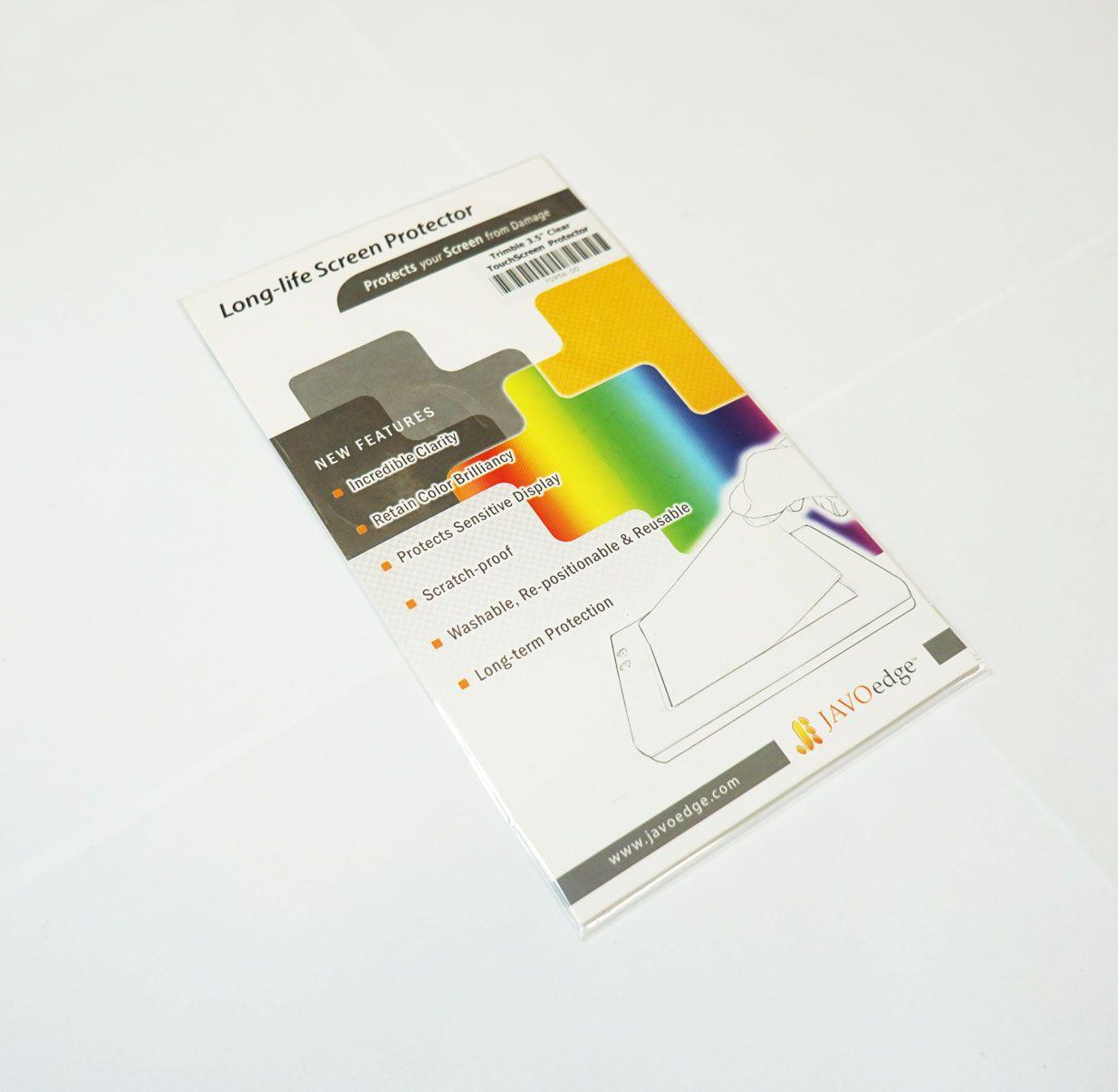 """Protetor de tela de 3.5"""" para Juno S/3 (pacote com 2 un.)"""