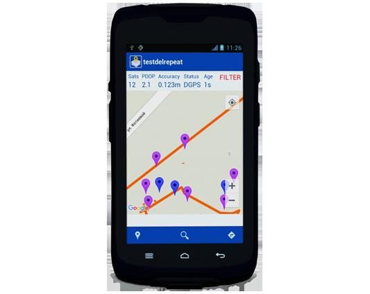 Receptor GPS MobilleMapper 50 4G c/ soft. MM Field e Processamento de dados