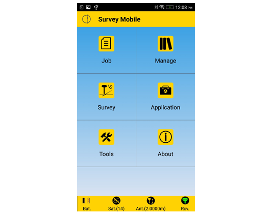 Software Spectra Precision Survey Mobile