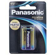 Bateria Alcalina 9V Premium Panasonic