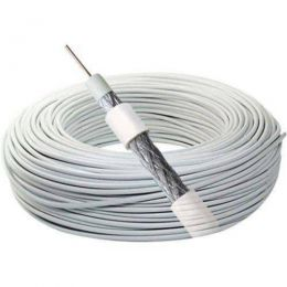 Cabo  Coaxial - RG06 60% (1mt) - Cabletech