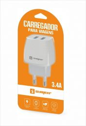 CARREGADOR PARA CELULAR 3.4A