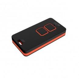 Controle PPA Zap P/ Portão Eletrônico - Preto/ Vermelho