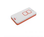 Controle  Remoto Portão PPA Zap Branco/Vermelho