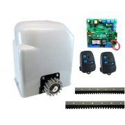 Kit Motor Portão Eletrônico Deslizante Light Peccinin - 220V