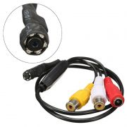 Micro Câmera Espiã AHD Lente Pinhole 1.3MP C/MICR