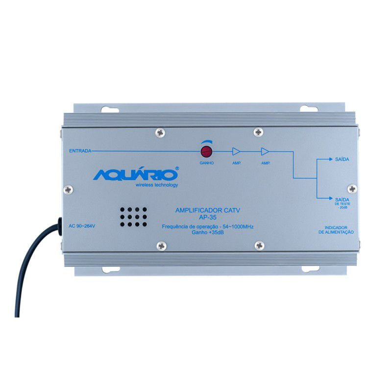 Amplificador Para CATV  AP-35 - Aquário