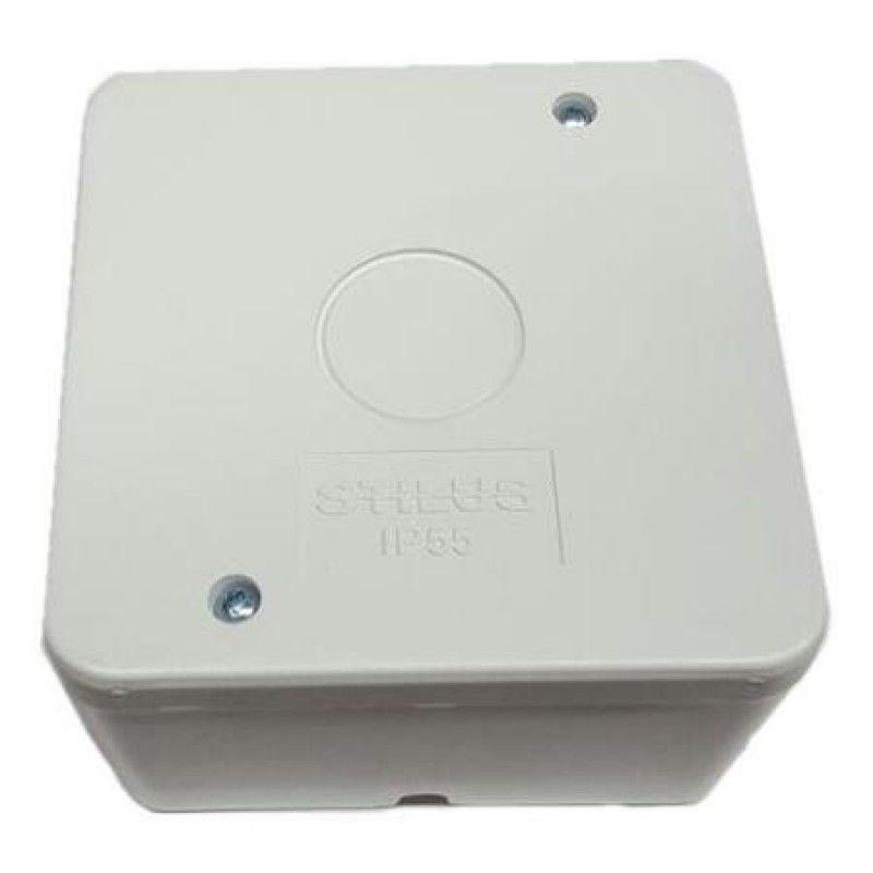 Caixa Sobrepor Para Conector De Câmera CFTV- Stilus
