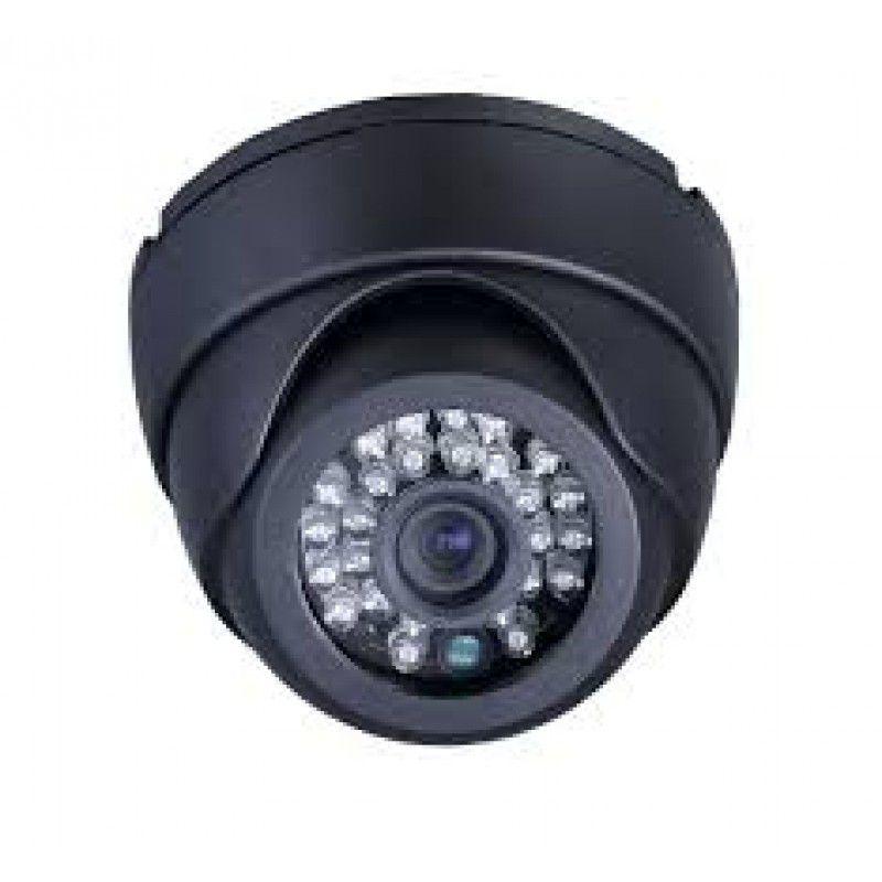 Câmera Dome  Infra Vermelho 24 Leds 20mts Linha 3,6mm