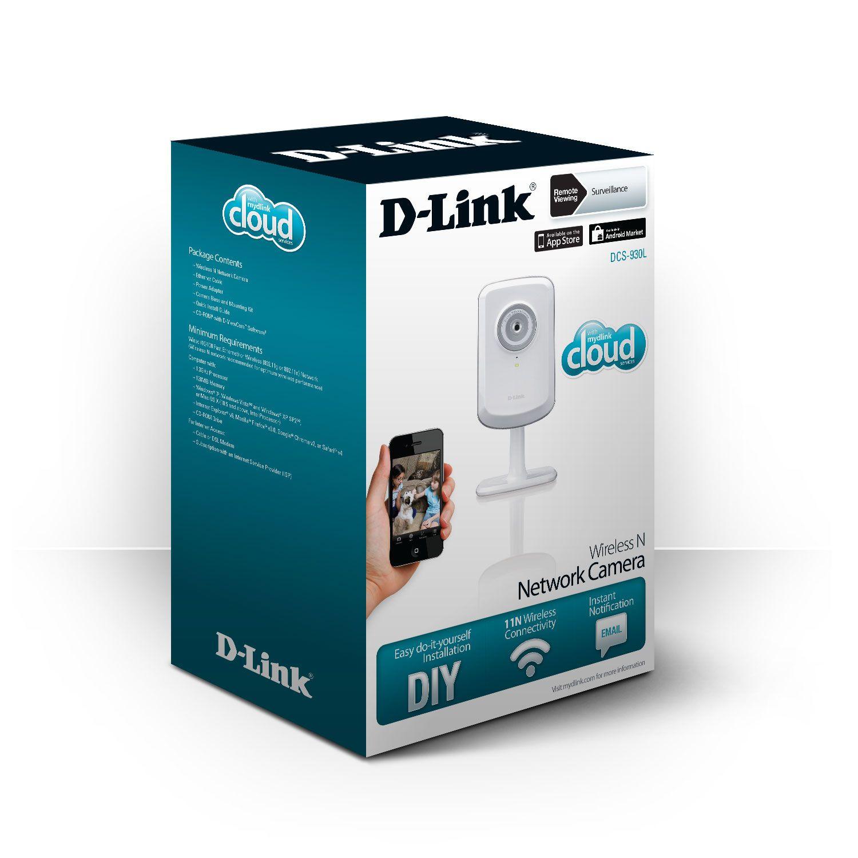 Câmera Wi Fi D-Link