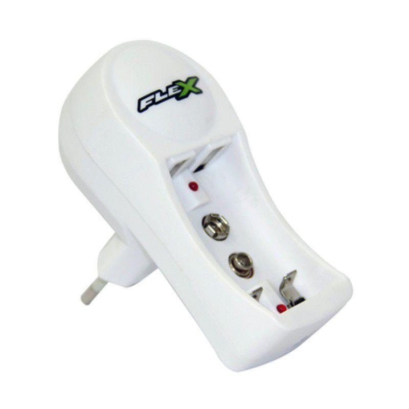 Carregador Para Pilhas e Baterias Flex DX-C11