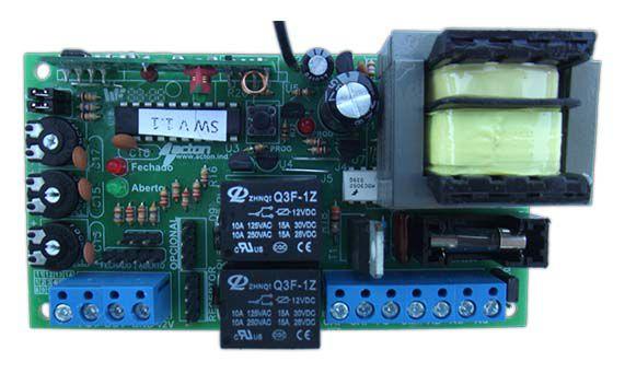Placa Central de Comando  Compatível Motores de Portão Automático PPA -  433 Mhz