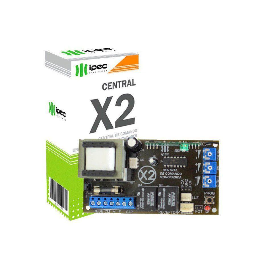 Central De Comando Universal P/Portão Eletrônico X2 IPEC