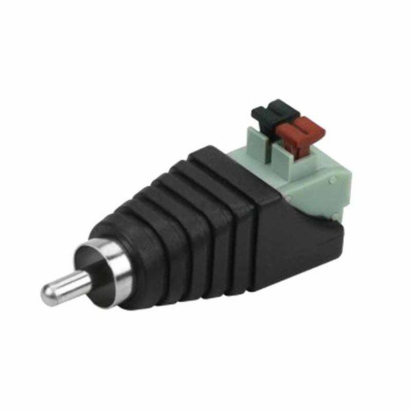 Conector RCA Com Borne - Engate Rapido