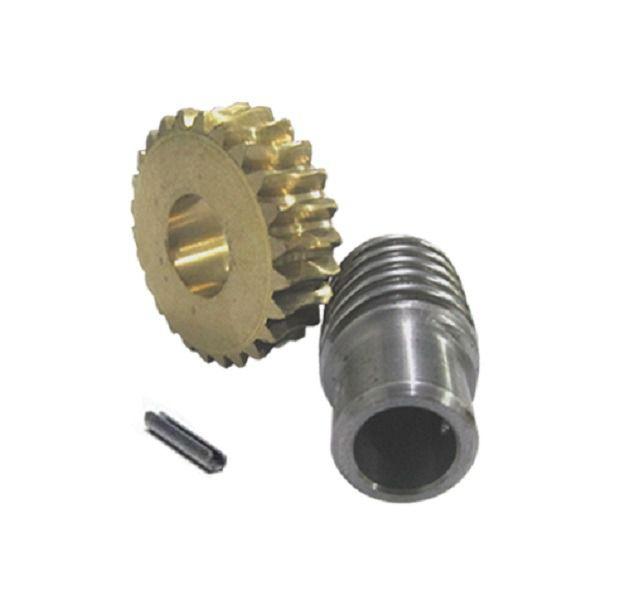 Eixo e Coroa Motor Portão Eletrônico  Basculante Peccinin
