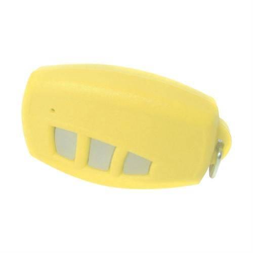 Controle Remoto Para Alarme e Portão Eletrônico Tech Genno - 433 Mhz (Amarelo)