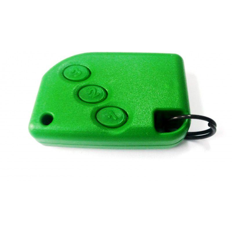 Controle Portão Eletrônico 433Mhz - Compatec (Verde)